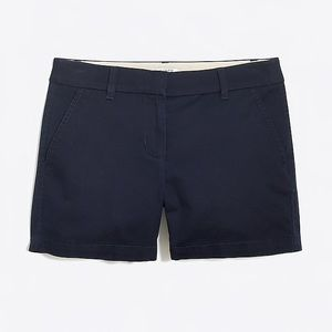 """J. Crew 5"""" chino shorts"""